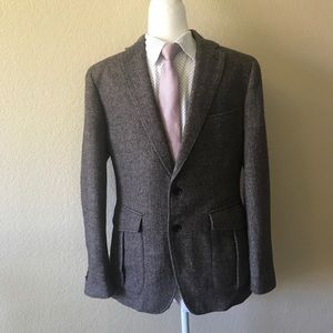 Banana Republic brown wool sport coat 38S